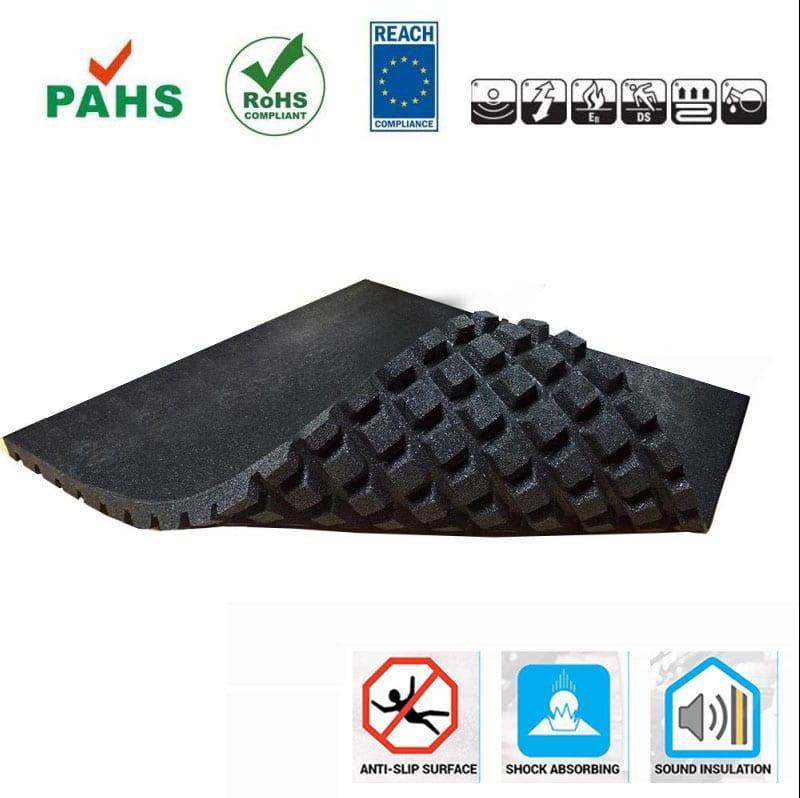 Crossfit rubber tegel