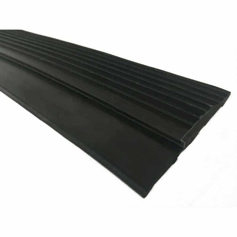 Rubber Oploop Profiel vol voor rubber sportvloeren