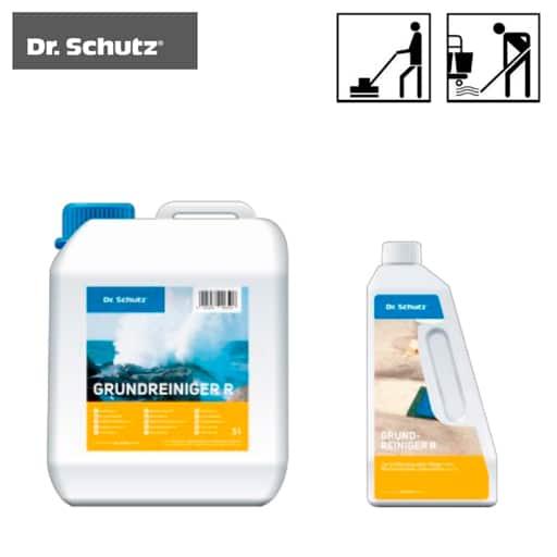 Professionele schoonmaakmiddelen voor rubber sportvloeren