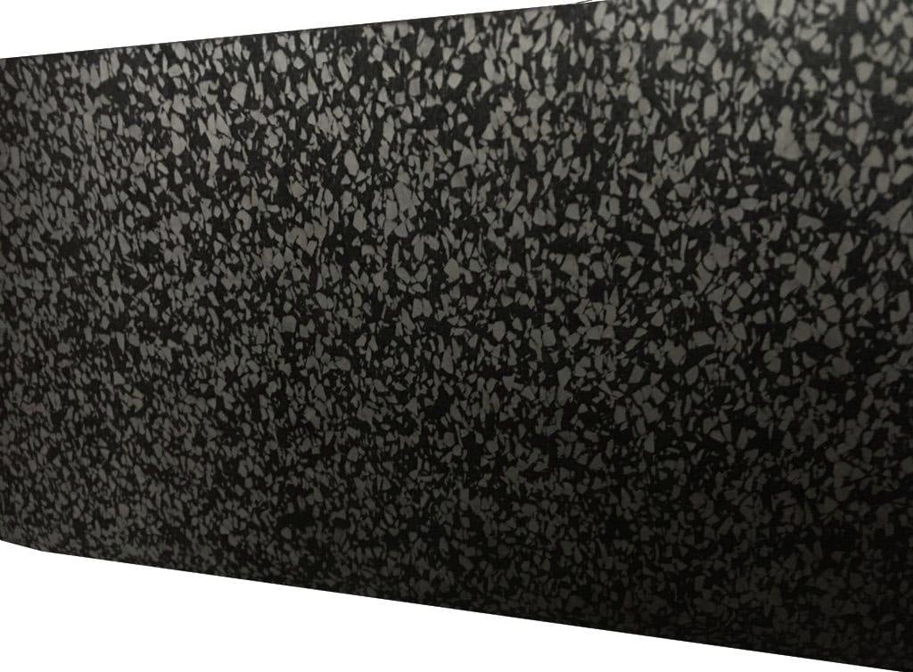 rubber fitness tegel grijs/zwart