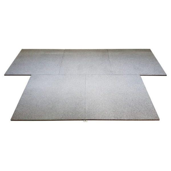 X-Connect stone kliktegels voor fitness vloeren en sportscholen