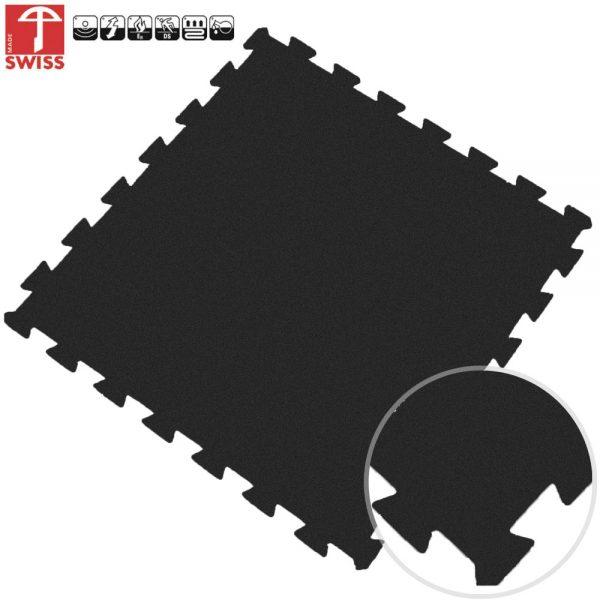 puzzel tegel zwart 60x60