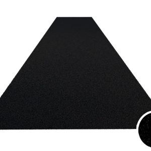 sprinttrack kunstgrasmat zwart